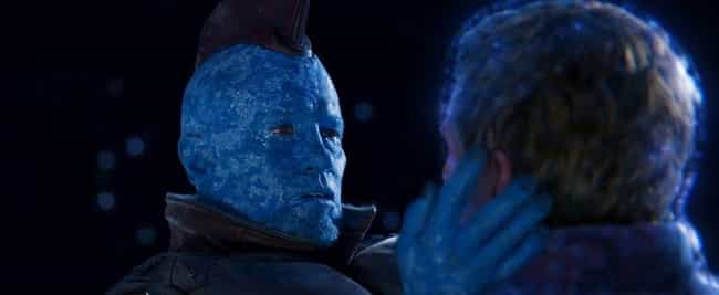 Yondu Udonta is listed (or ranked) 2 on the list The 20 Most Unforgettable Last Words Of MCU Characters, Ranked