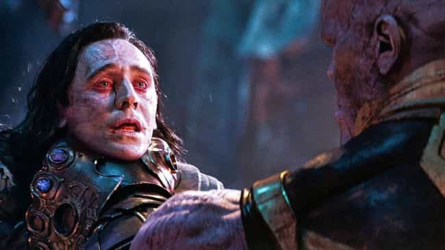 Loki is listed (or ranked) 4 on the list The 20 Most Unforgettable Last Words Of MCU Characters, Ranked