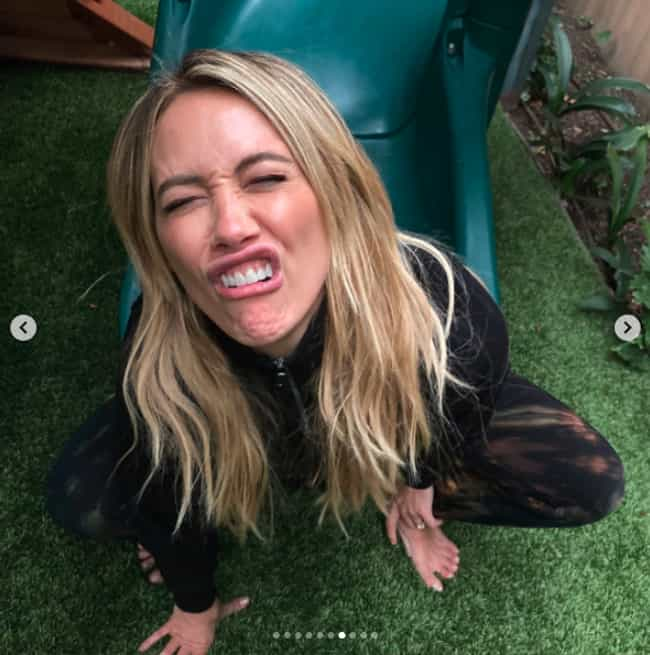 A Face Only The Perfect ... is listed (or ranked) 4 on the list 10 Hilariously Relatable Photos From Hilary Duff's Husband That Prove They Are Relationship Goals
