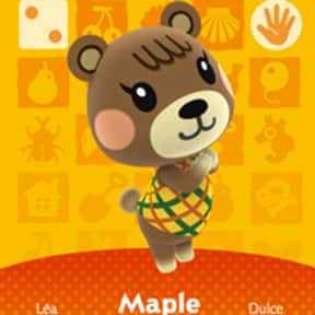 Maple is listed (or ranked) 25 on the list All 'Animal Crossing: New Horizons' Villagers & Characters, Ranked