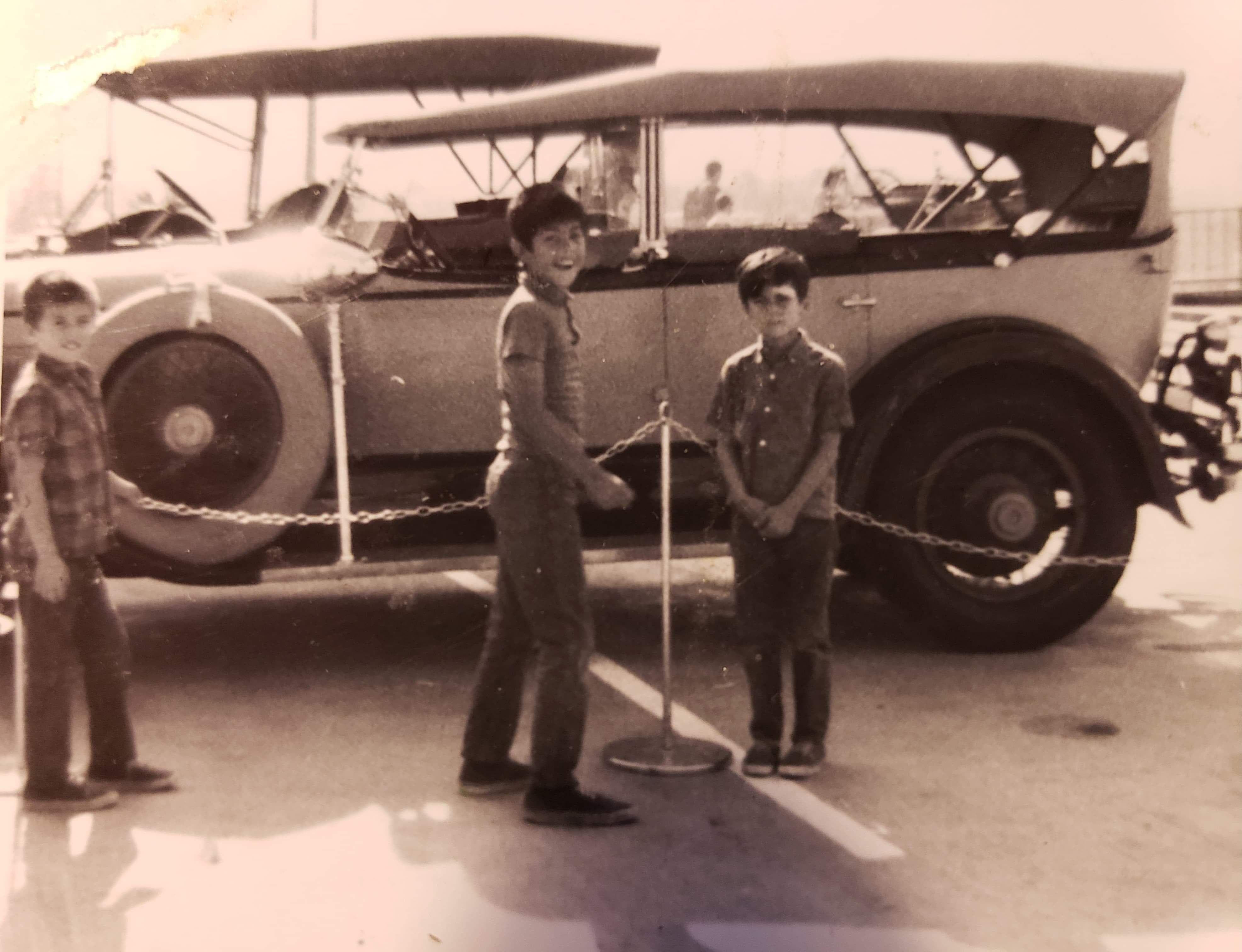 Kid Stuff on Random Vintage Color Photos Of People With Classic Cars