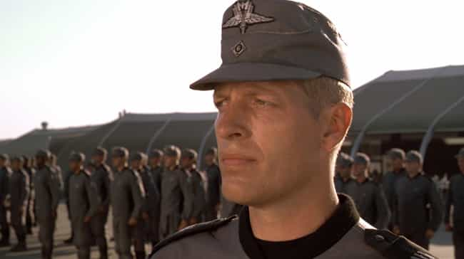 The Federation's Militar... is listed (or ranked) 3 on the list 'Starship Troopers' Fan Theories That Might Be Too Good To Be True