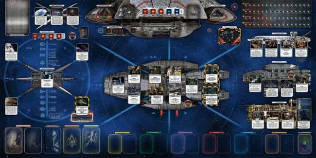 Battlestar Galactica: Th... is listed (or ranked) 3 on the list The 20 Best Board Games To Play On Tabletop Simulator Right Now
