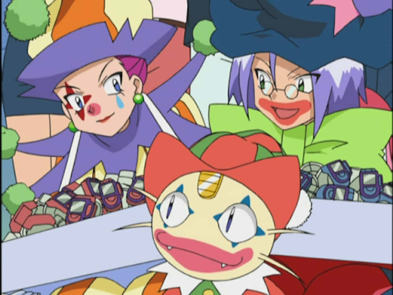 Team Rocket - 'Pokemon' is listed (or ranked) 2 on the list The 14 Funniest Anime Villains of All Time
