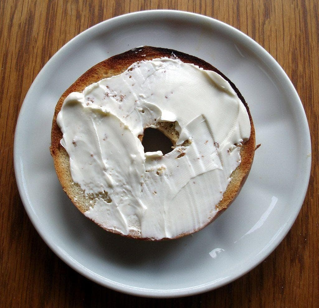 New York - Bagel and Cream Cheese on Random Most Popular Breakfast Foods In Every State, According To Googl