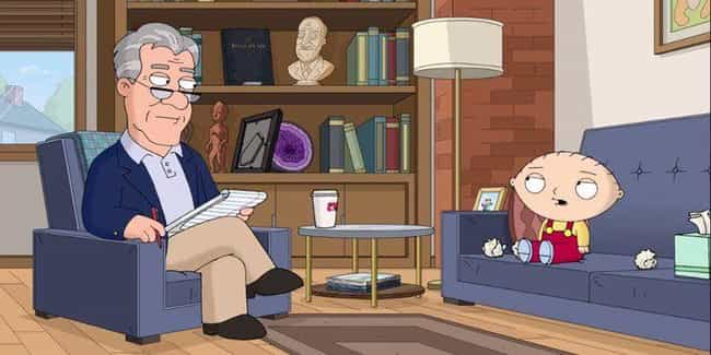 Send in Stewie, Please ... is listed (or ranked) 4 on the list The 15 Worst 'Family Guy' Episodes Ever