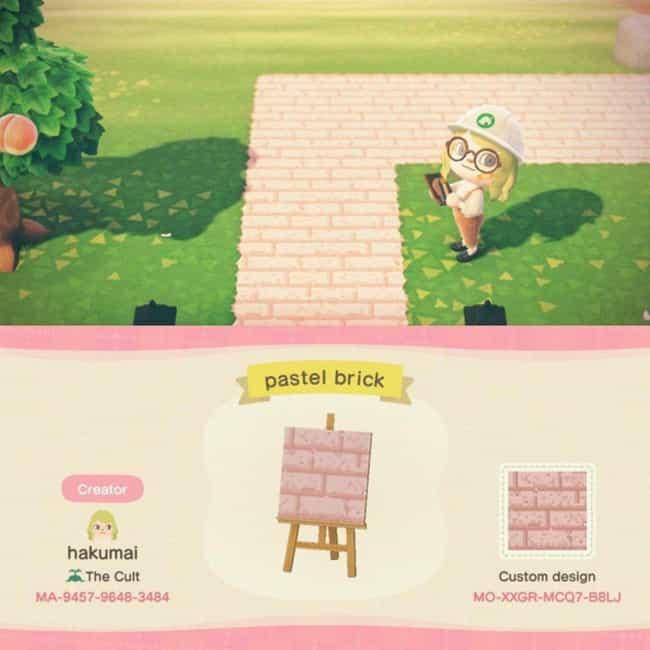 Animal Crossing New Horizons Tile Design