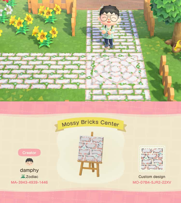 25 New Path Qr Codes For Animal Crossing New Horizons