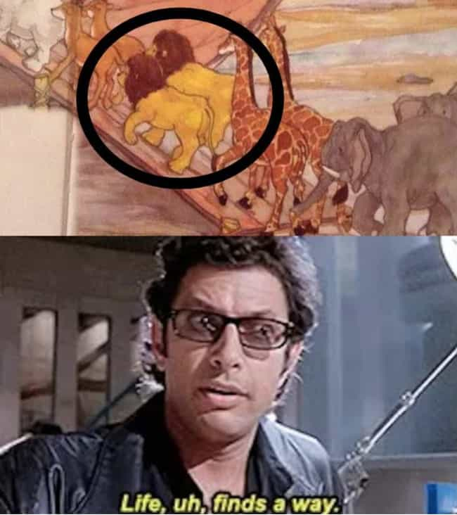 A Modern Family is listed (or ranked) 3 on the list 27 Memes About 'Jurassic Park', Still The Only Good Movie Ever Made