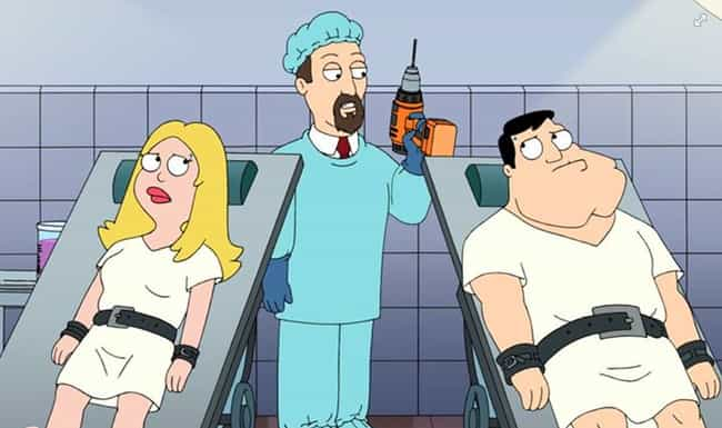American Fung is listed (or ranked) 1 on the list The 15 Worst 'American Dad!' Episodes Ever