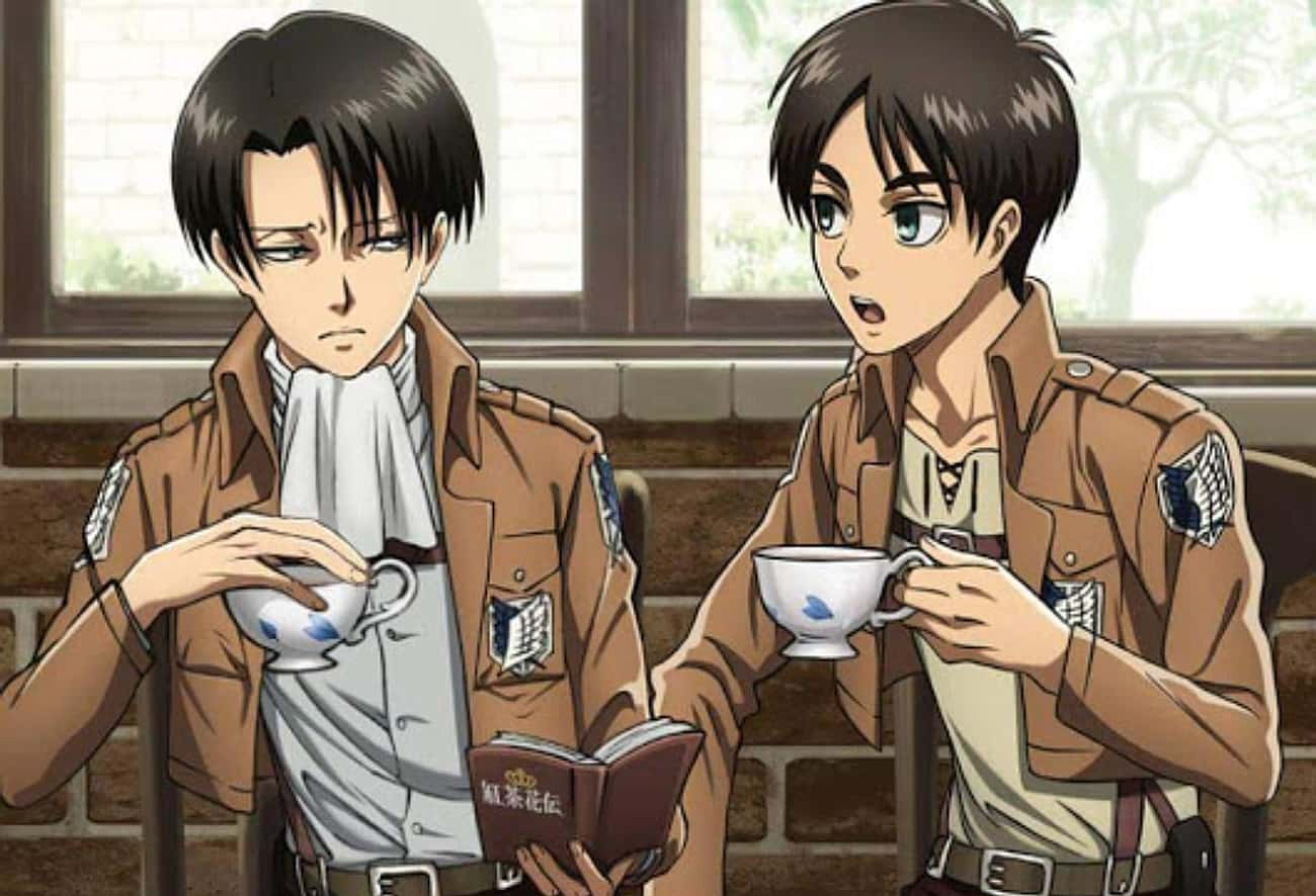 Levi Has An Interesting Ambiti is listed (or ranked) 3 on the list 20 Things You Didn't Know About 'Attack on Titan' Characters