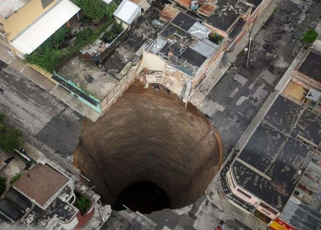 Guatemala City Sinkhole, 2010