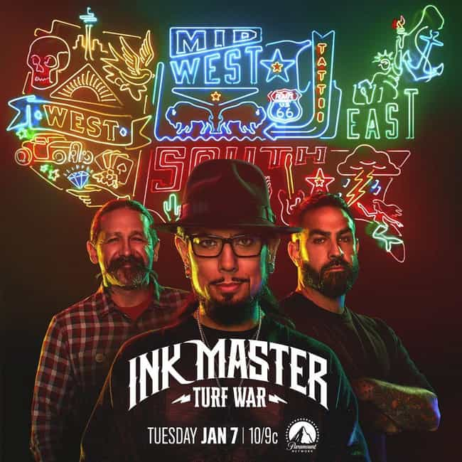 Ink Master - Season 13 ... is listed (or ranked) 8 on the list The Best Seasons of 'Ink Master'