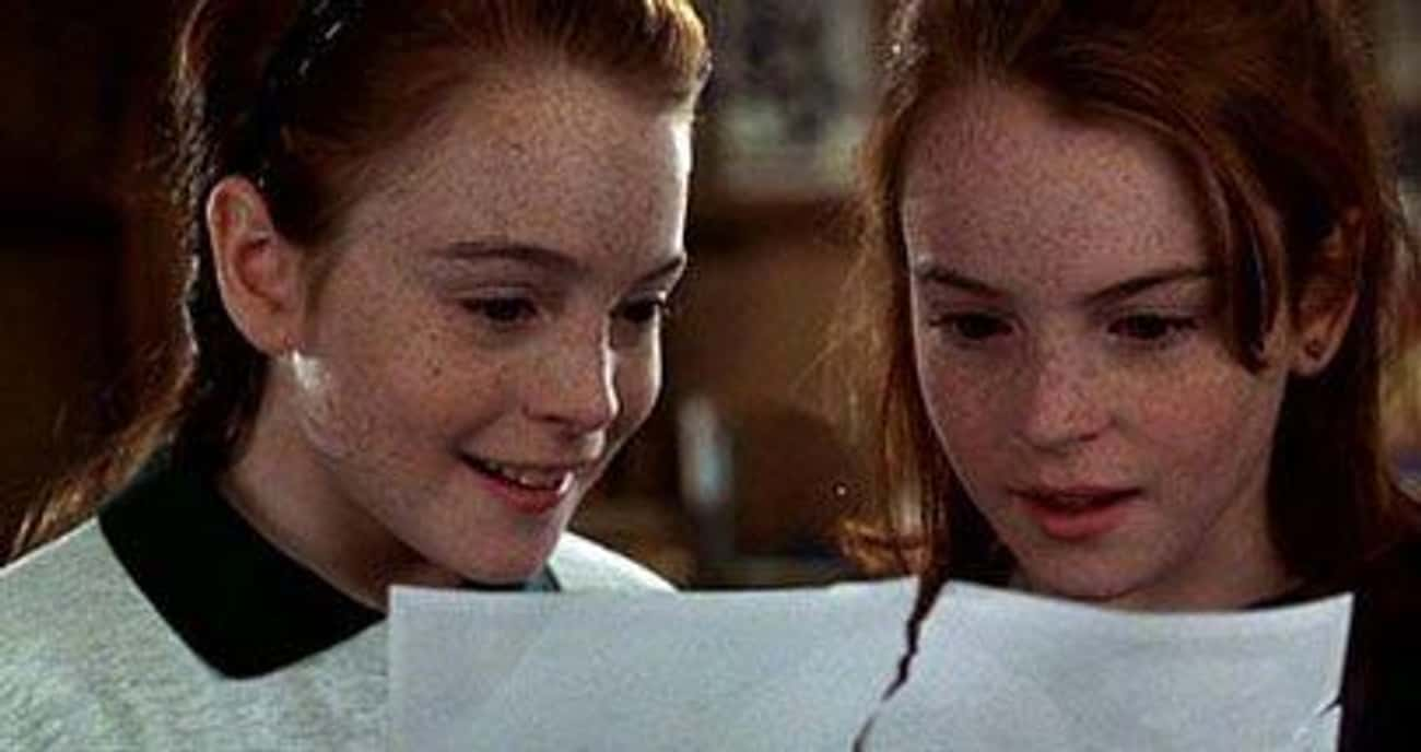We're Like Twins is listed (or ranked) 1 on the list The Most Memorable Quotes From'The Parent Trap'