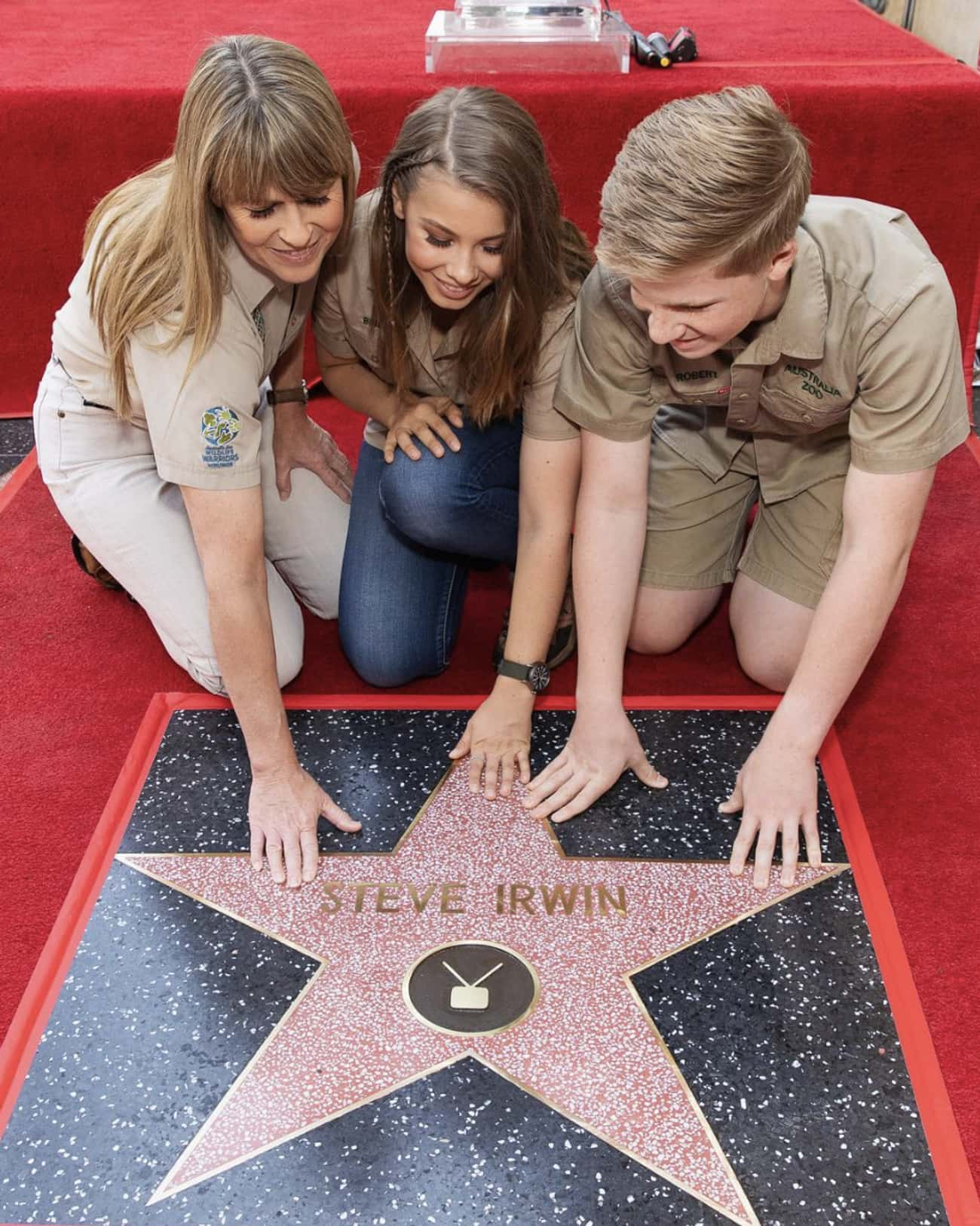 Honoring Her Father On The Hol is listed (or ranked) 2 on the list 18 Photos Of Bindi Irwin That Would Make Her Father, Steve Irwin Proud