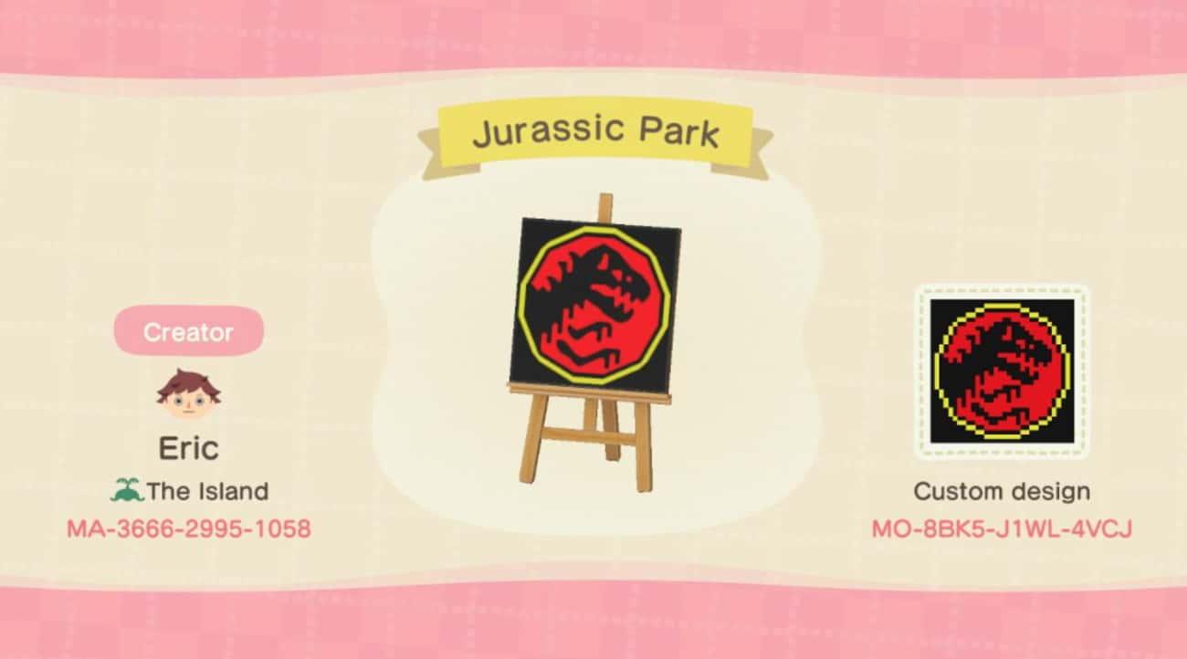 Jurassic Park Flag