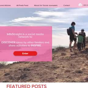 infostraight.com is listed (or ranked) 24 on the list The Top Travel Social Networks