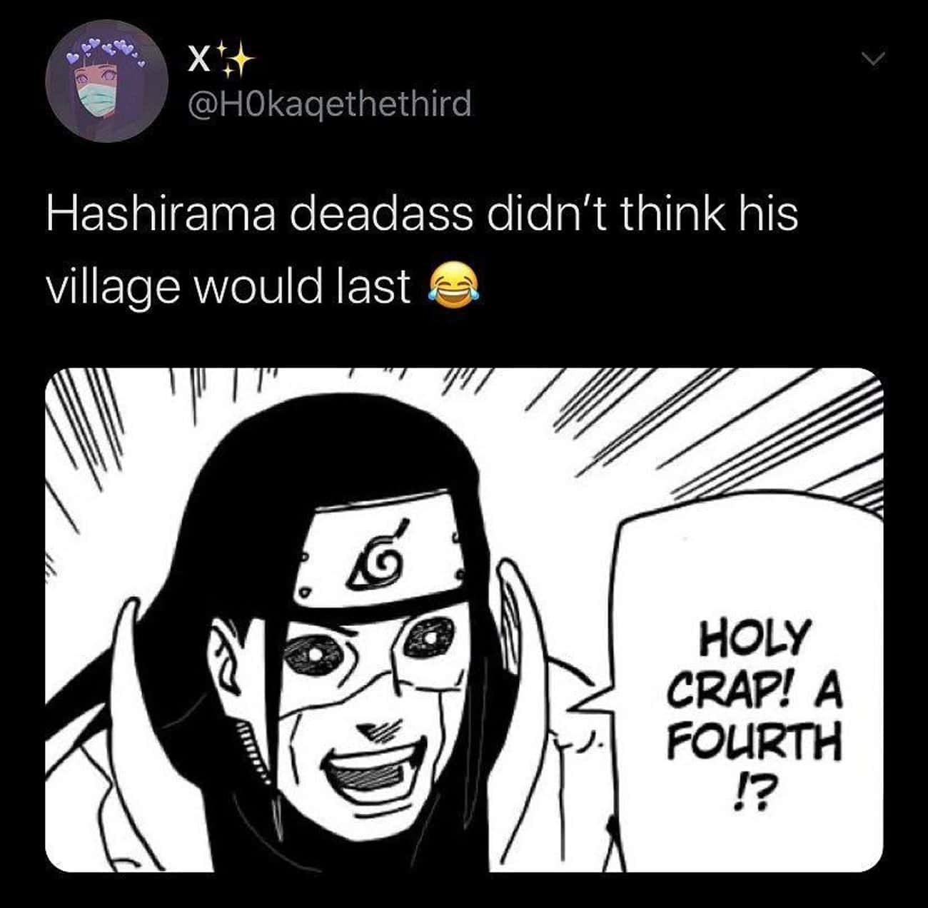 He Had No Faith is listed (or ranked) 2 on the list 29 Random Hokage Memes We Laughed Way Too Hard At