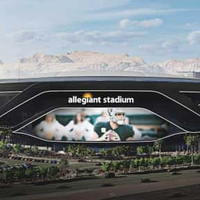 Allegiant Stadium is listed (or ranked) 25 on the list The Best NFL Stadiums