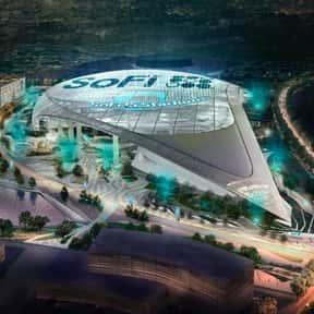 Sofi Stadium is listed (or ranked) 22 on the list The Best NFL Stadiums