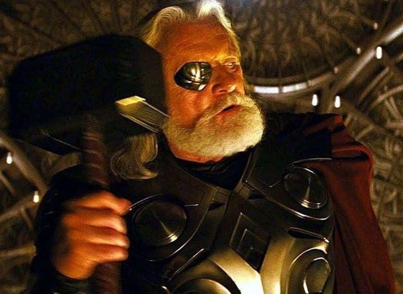 Anthony Hopkins Improvised The Banishment Of Thor
