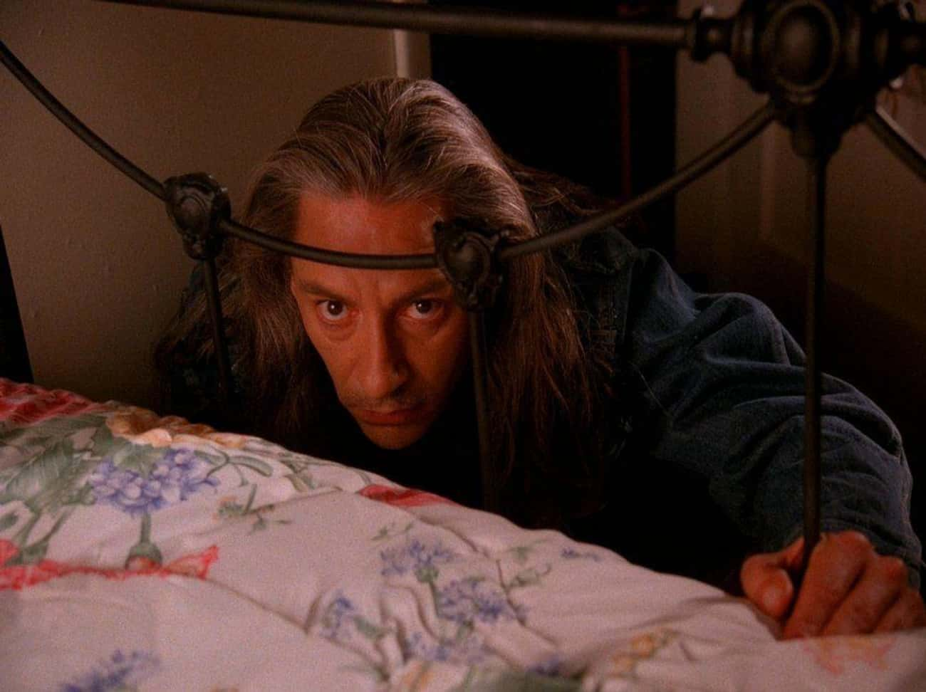 The Image Of BOB Staring Into  is listed (or ranked) 1 on the list 'Twin Peaks' Is The Scariest Thing Ever Aired On Television