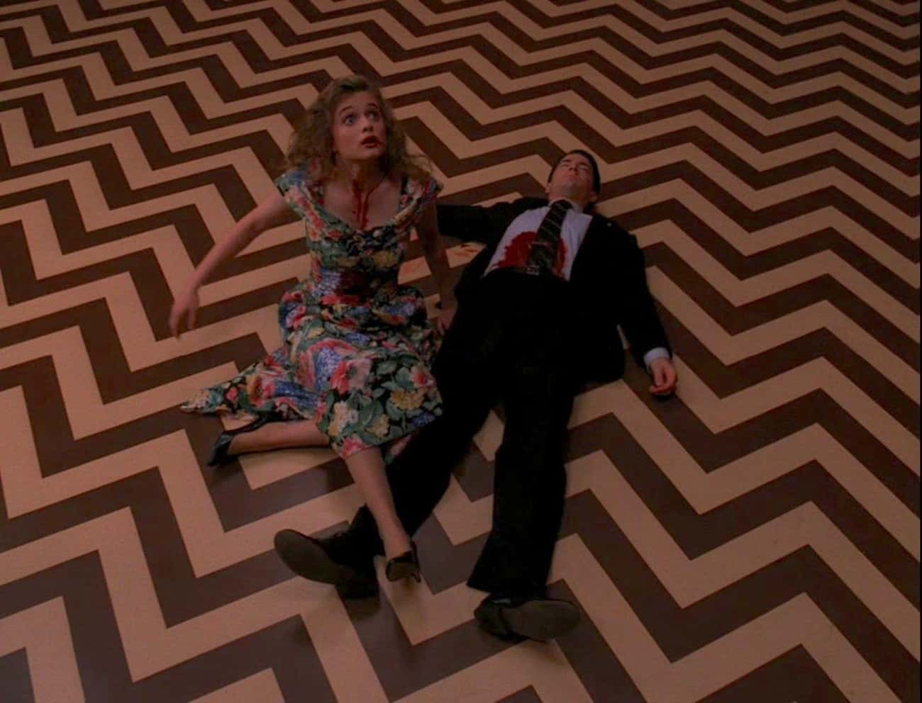 The Season 2 Finale Is A Maste is listed (or ranked) 4 on the list 'Twin Peaks' Is The Scariest Thing Ever Aired On Television