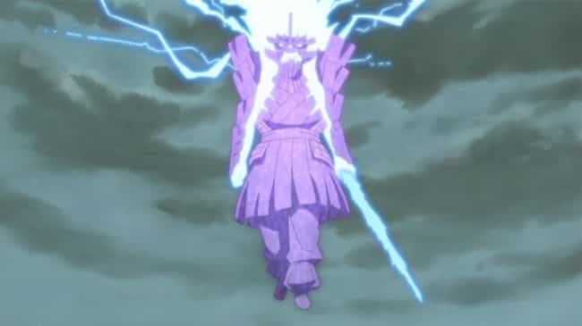 Indra's Arrow - 'Naruto'... is listed (or ranked) 3 on the list 13 Incredibly Strong Anime Attacks That Were Only Used Once