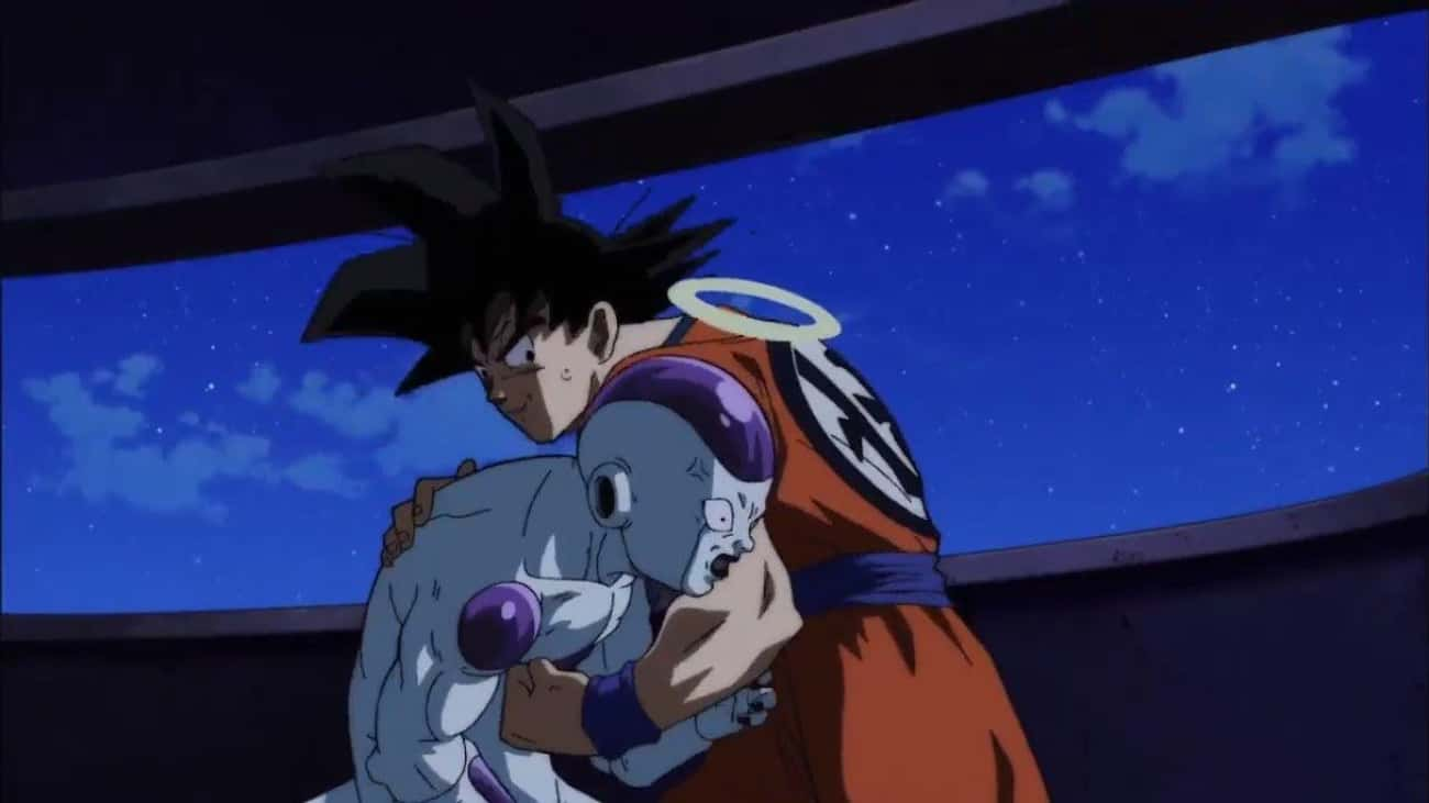 Goku & Frieza - 'Dragon Ball Z is listed (or ranked) 2 on the list The 15 Strongest Hero/Villain Duos In Anime History, Ranked