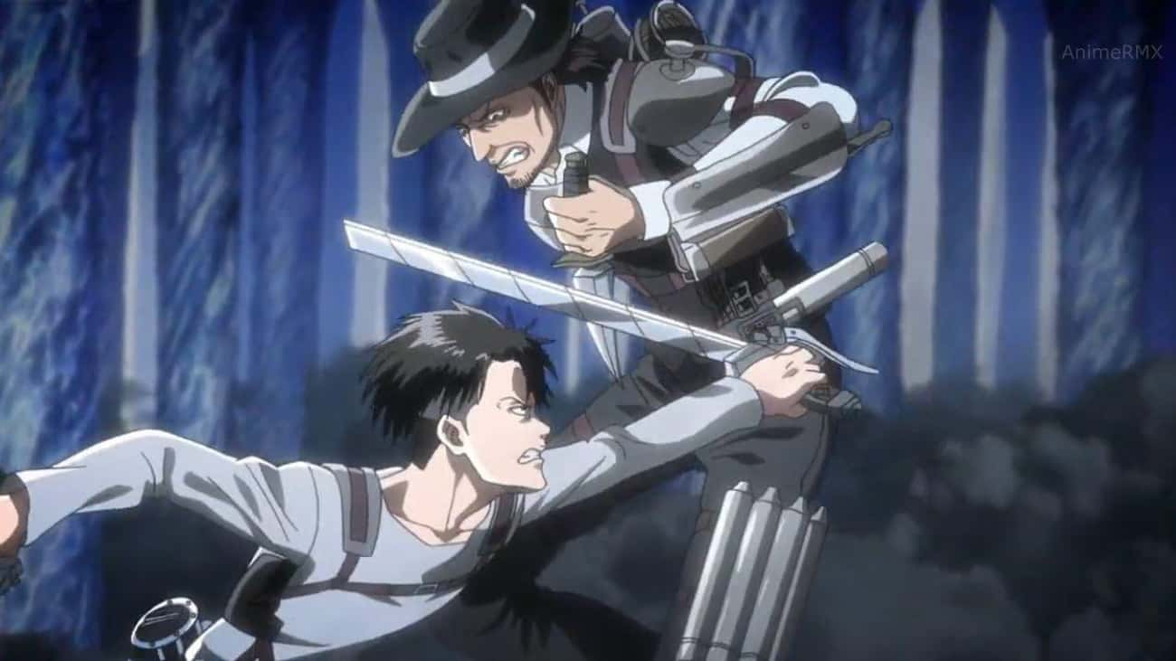Levi & Kenny Ackerman - 'Attac is listed (or ranked) 4 on the list The 15 Strongest Hero/Villain Duos In Anime History, Ranked