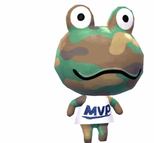Ranking The 18 Best Frog Villagers In 'Animal Crossing'