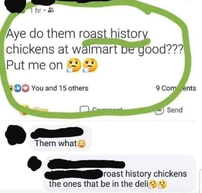 The Roast Is History is listed (or ranked) 4 on the list The 25 Funniest Spelling Mistakes We Found Online This Month