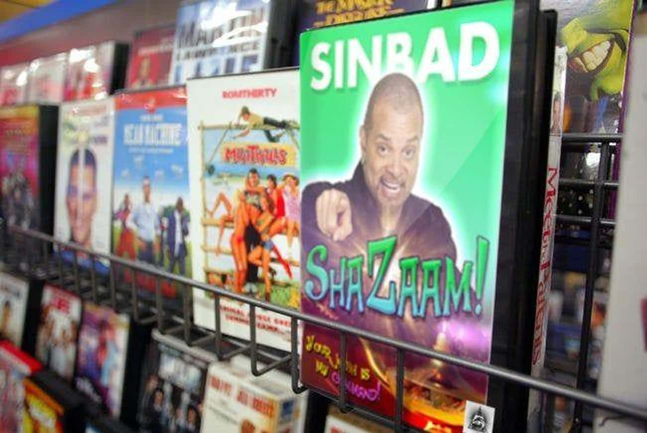 'Shazaam' Supposedly Stars Sinbad As A Genie Who Helps Two Kids Find Love For Their Sad Dad