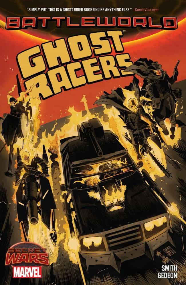 Ghost Racers is listed (or ranked) 1 on the list The Best Ghost Rider Storylines To Get To Know The Characters Who Took On The Role