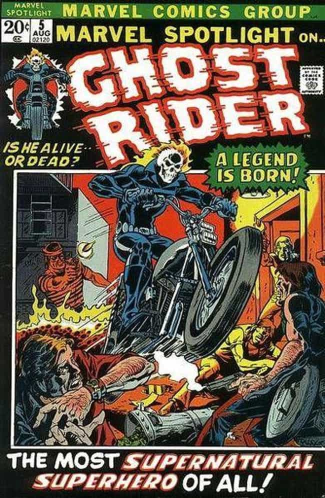 Ghost Rider is listed (or ranked) 4 on the list The Best Ghost Rider Storylines To Get To Know The Characters Who Took On The Role