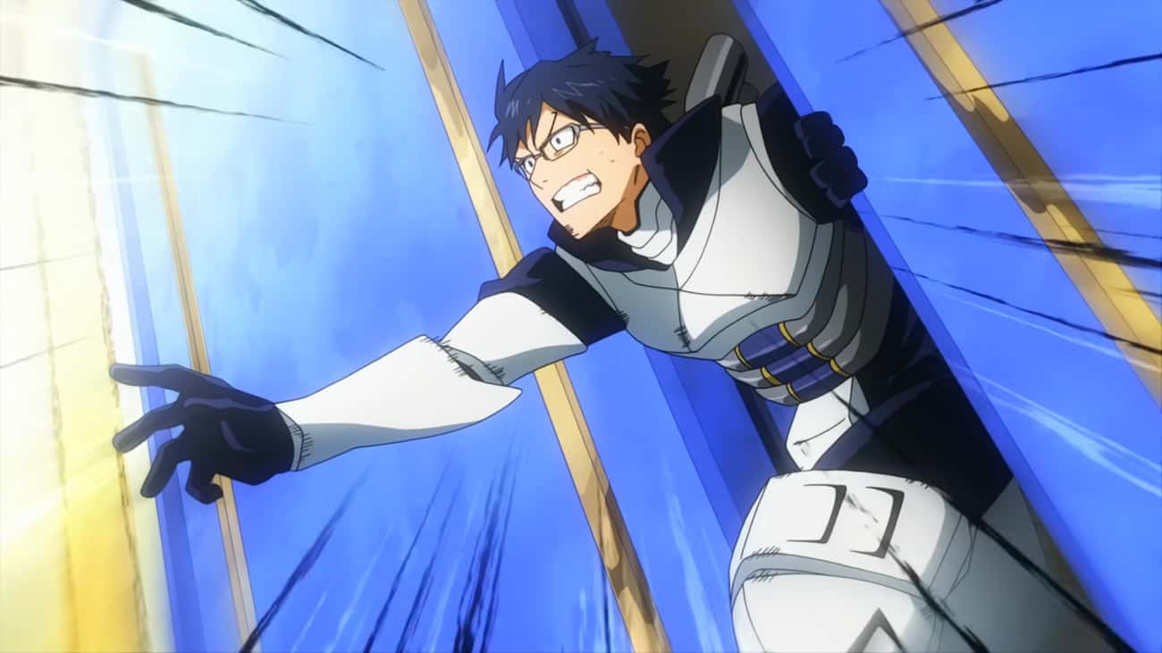 Tenya Iida - Lawful Good is listed (or ranked) 1 on the list 20 My Hero Academia Characters Get Assigned D&D Alignments