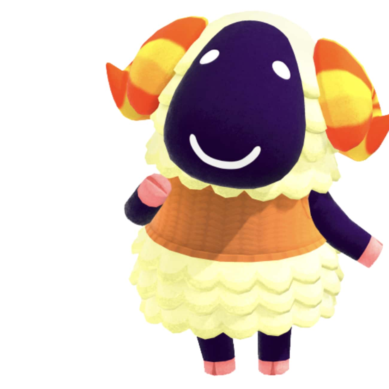 Vesta is listed (or ranked) 3 on the list Who's Your Favorite Sheep Villager In 'Animal Crossing: New Horizons'?