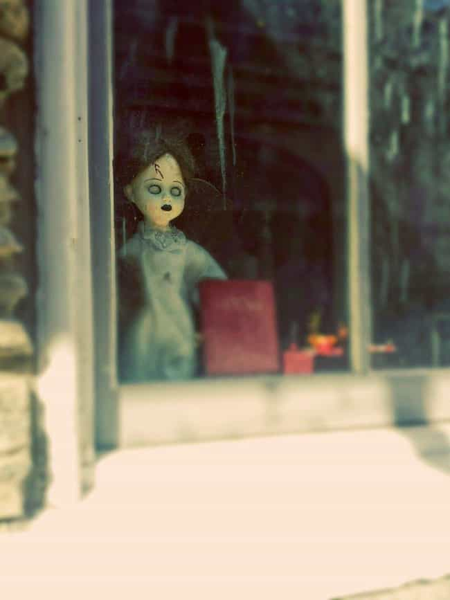 No Eyes is listed (or ranked) 4 on the list Creepy Dolls, Dummies, And Mannequins Spotted In Windows From The Street