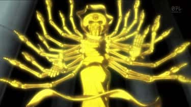 100-Type Guanyin Bodhisattva - is listed (or ranked) 2 on the list 20 Ridiculously Strong Anime Attacks Ranked By How Cool They Are