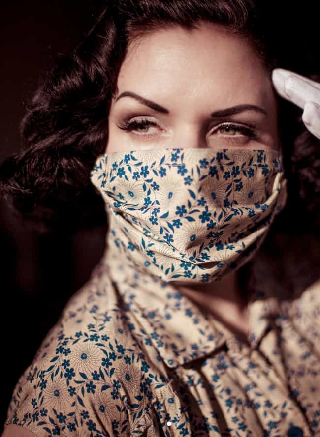 Vintage is listed (or ranked) 4 on the list Chic Quarantine Outfits That Make Us Love Social Distancing