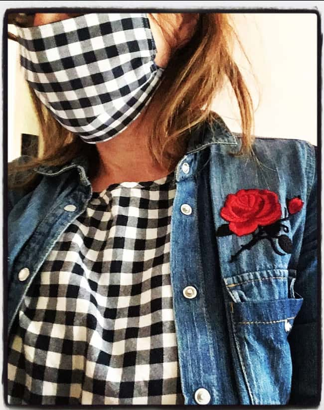 Gingham Goddess is listed (or ranked) 13 on the list Chic Quarantine Outfits That Make Us Love Social Distancing