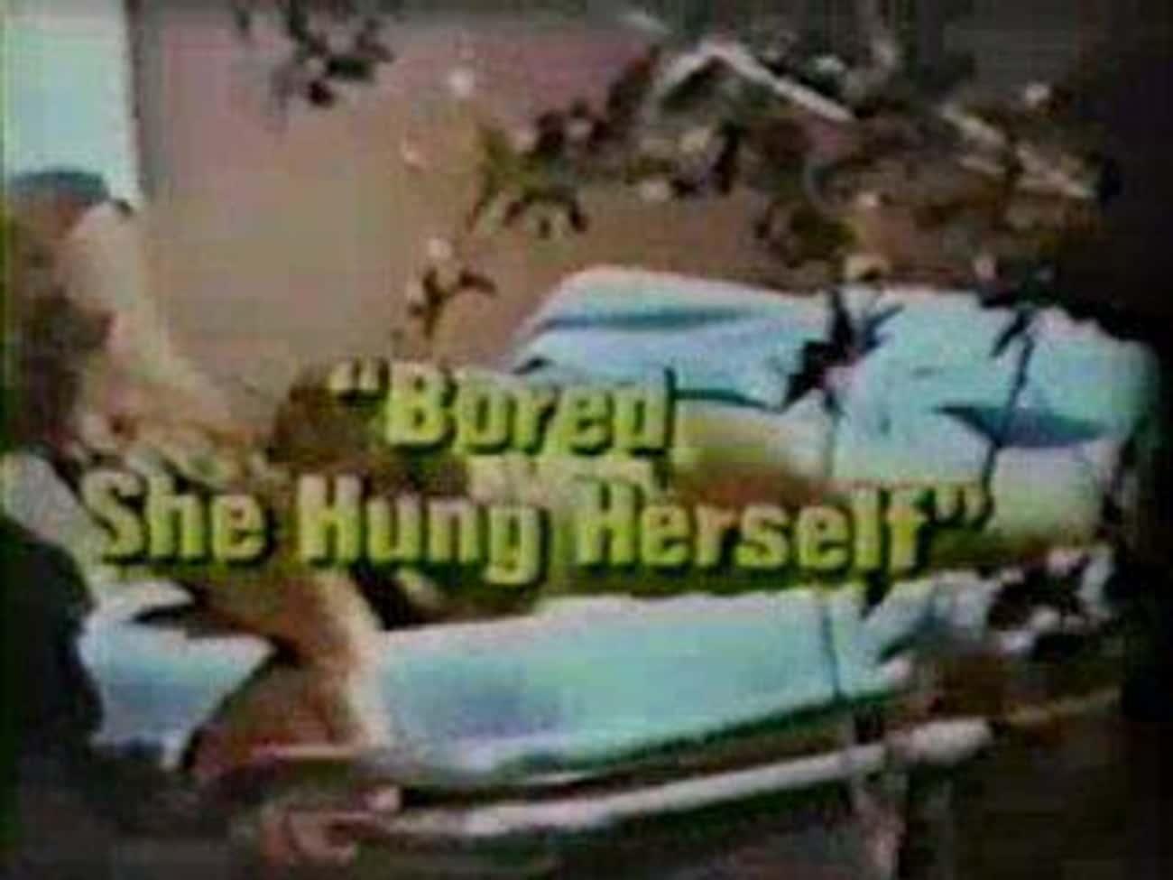 1970: Hawaii Five-O, 'Bored, She Hung Herself'