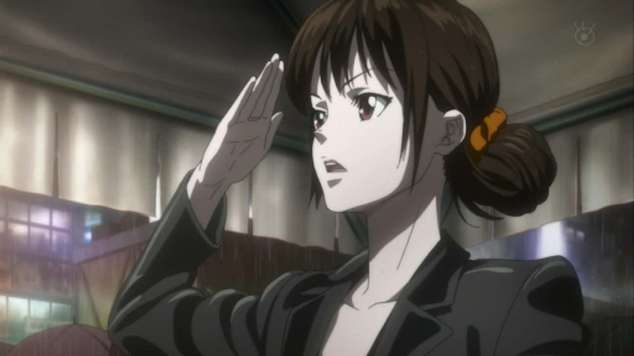 Mika Shimotsuki - 'Psycho Pass is listed (or ranked) 4 on the list 13 Poorly Written Anime Characters Who Could've Been Better