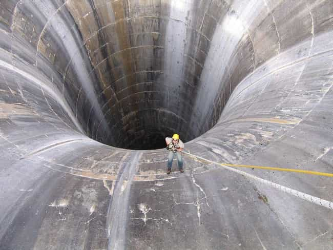 Spillway is listed (or ranked) 1 on the list 17 Images You'll Hate Looking At If You Have Megalophobia
