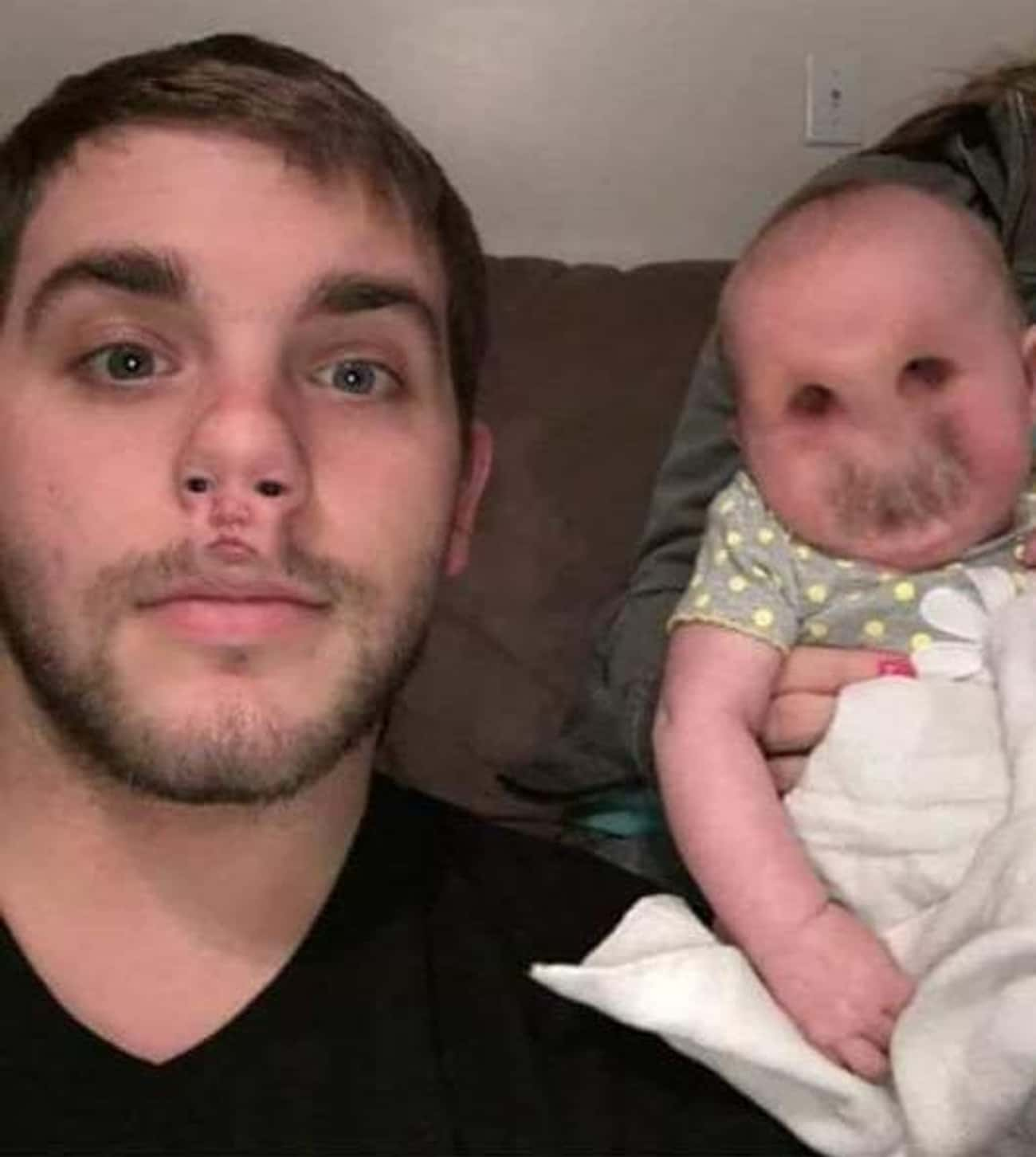 By A Nose is listed (or ranked) 4 on the list 25 Horrifying Face Swaps That Will Fuel Your Nightmares