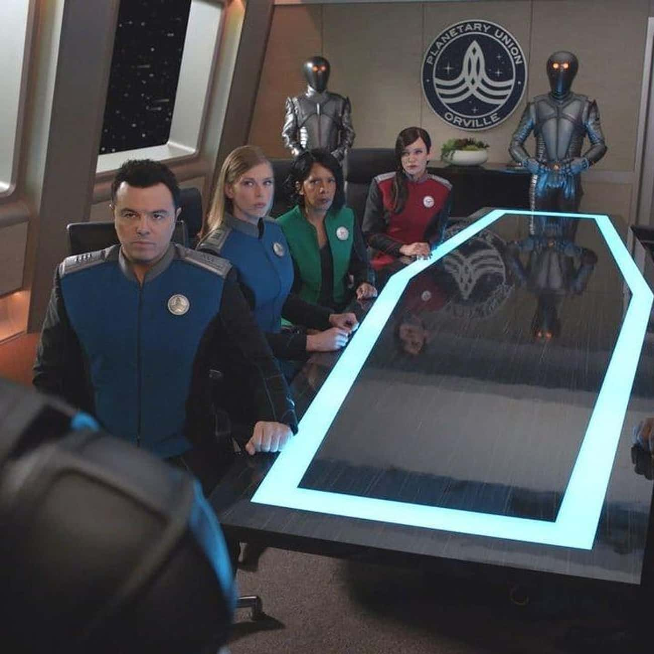 Identity, Part II is listed (or ranked) 1 on the list The Best Episodes of 'The Orville'