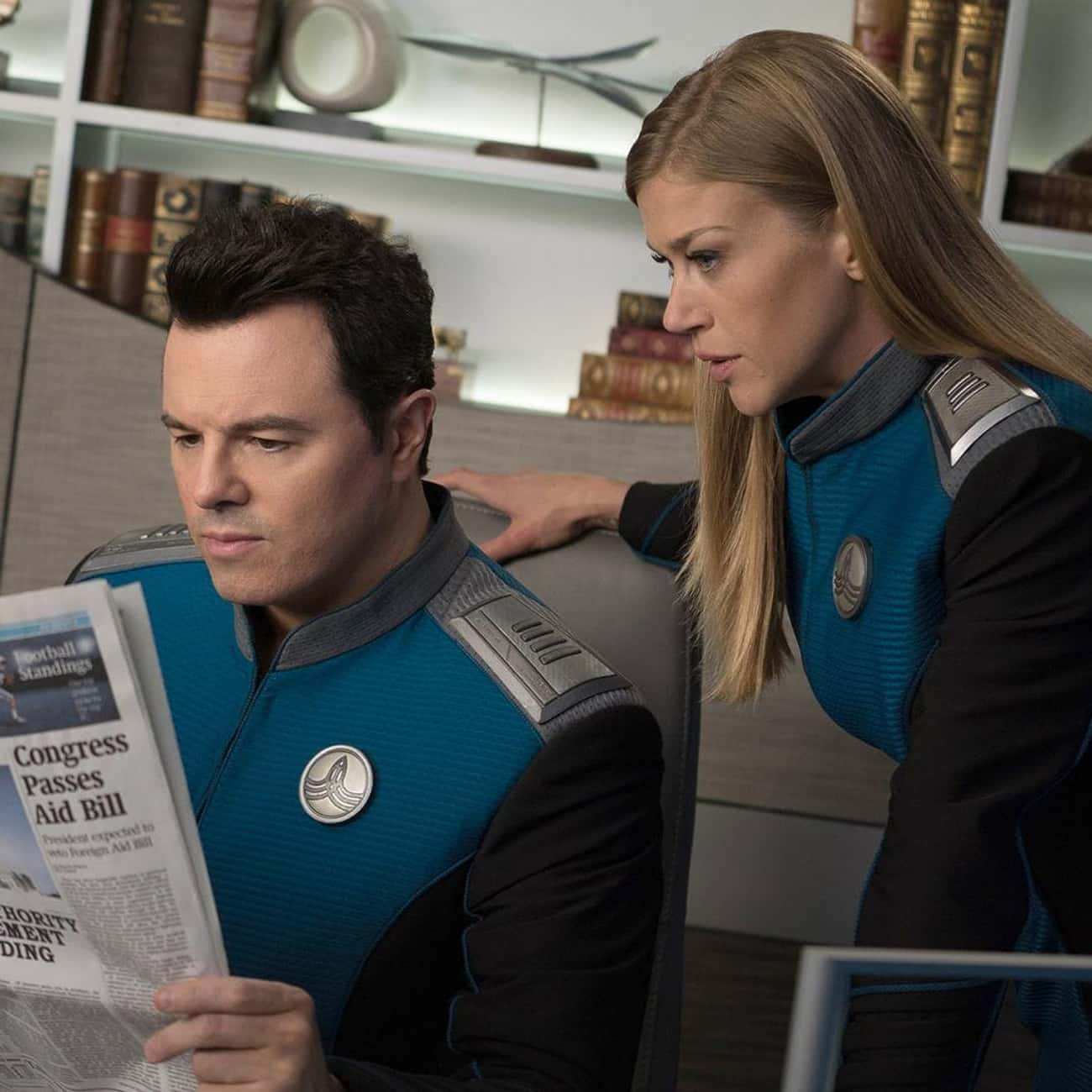 Lasting Impressions is listed (or ranked) 3 on the list The Best Episodes of 'The Orville'