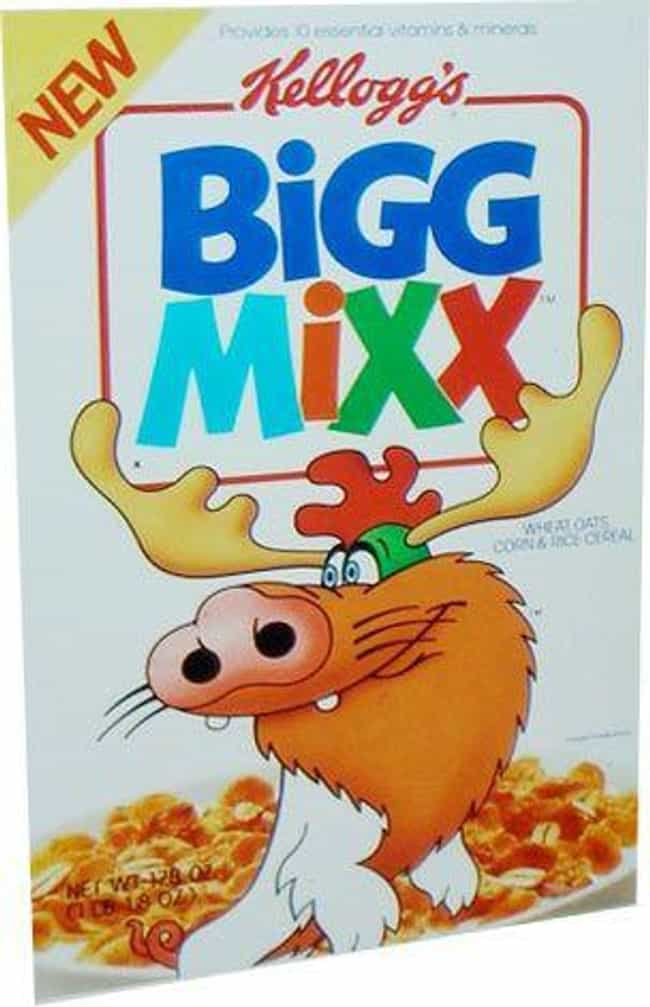 Bigg Mixx is listed (or ranked) 1 on the list The Worst Cereals That Time Forgot