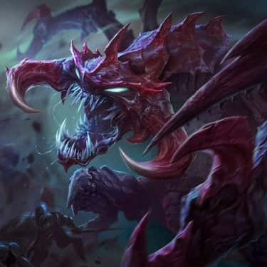 Cho'Gath is listed (or ranked) 2 on the list The Best Top Lane Tanks In 'League of Legends'