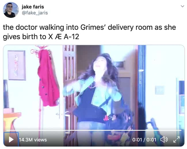 They Broke Space And Time is listed (or ranked) 28 on the list 32 Funny Memes About Elon Musk And Grimes Possibly Naming Their Baby 'XÆA-12'